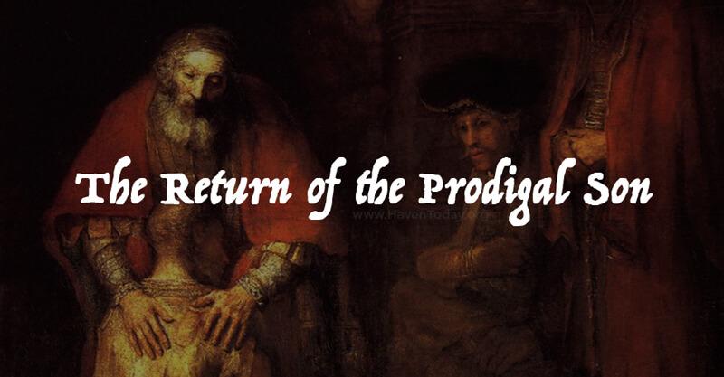 the prodigal son analysis